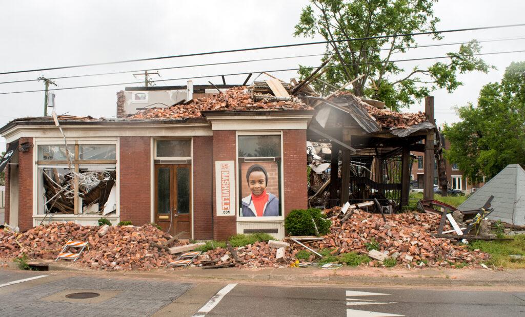 Tornado Destruction - North Nashville